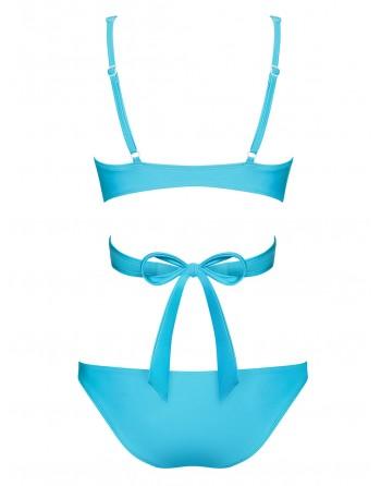 Maillot de bain 2 pcs Cobaltica  - Bleu - les nuances du désir