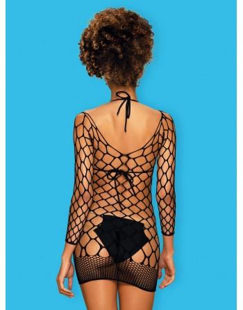 D606 Robe - Noir - les nuances du désir