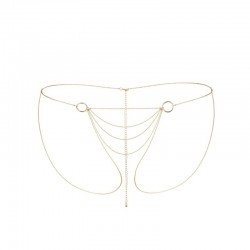 Magnifique - Chaine bikini or - les nuances du désir