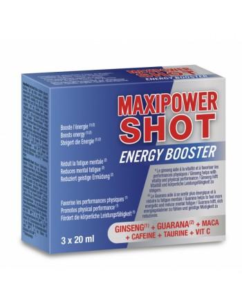 MaxiPower Shot - 3x20ml - les nuances du désir