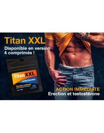 Titan XXL Homme - 4 comprimés - les nuances du désir