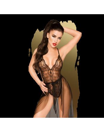 Best foreplay Body et Paréo - Noir - les nuances du désir