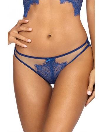 String V-9618 - Bleu - les nuances du désir