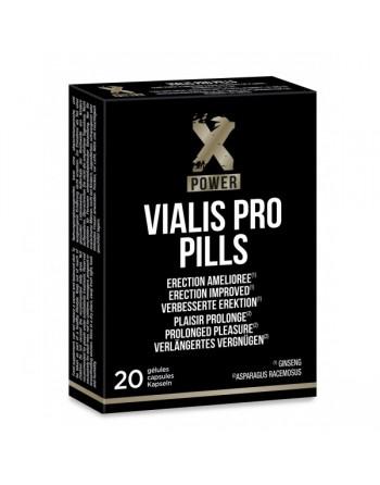 Vialis Pro pills - 20 gélules - les nuances du désir
