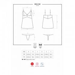 810-CHE chemise black