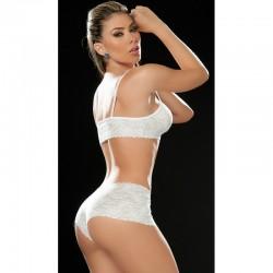 Lace set white 206