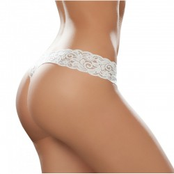 Sexy lace thong white 93
