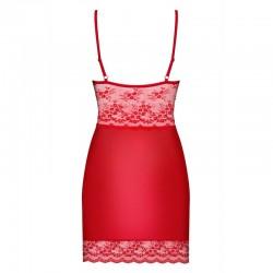 Nuisette  string rouge Lovica