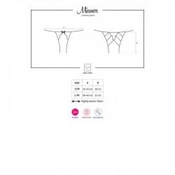 Miamor crotchless panties