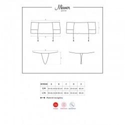 Miamor garter belt
