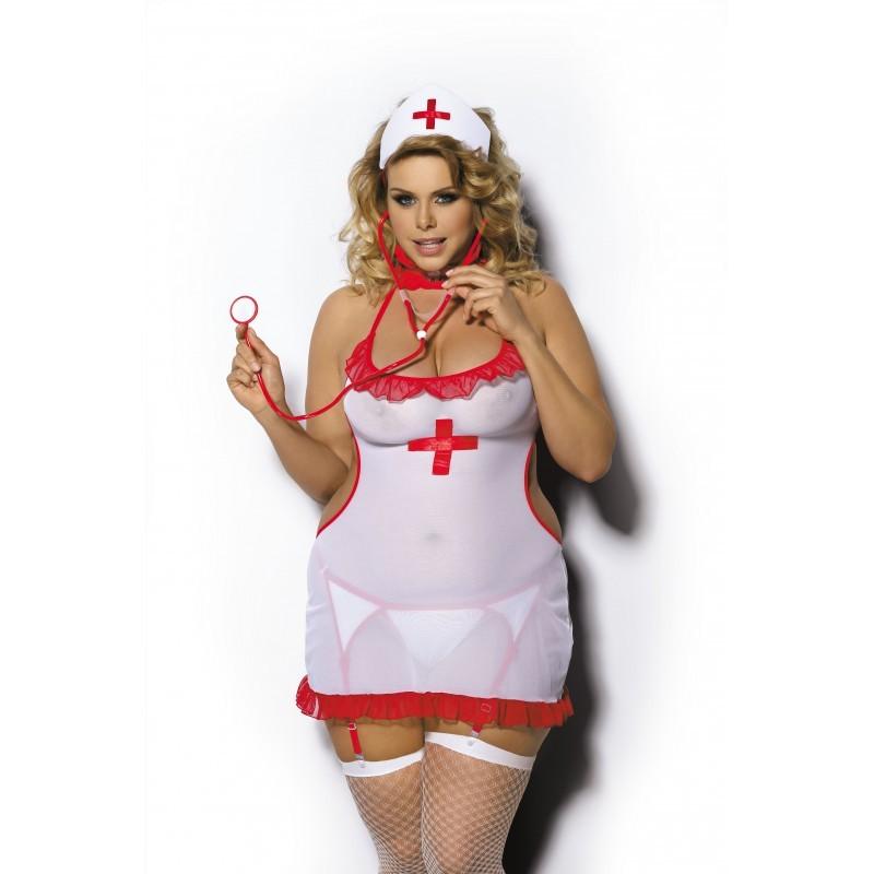 Costume Infirmière Shane - les nuances du désir
