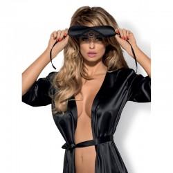 Satinia Mask Black